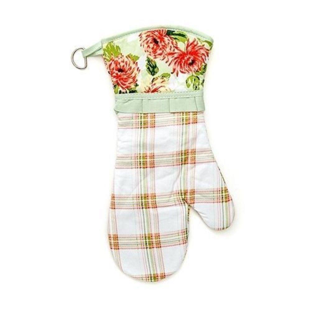 Laura Ashley La Multi Blooms Velour Kitchen Towel and Oven Mitt image 3