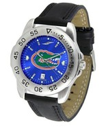 Florida Gators Licensed Men Sport Leather AnoChrome Watch - $58.90