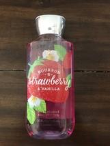 Bath Body Works Bourbon Strawberry Vanilla Shower Gel Brand New FREE SHI... - $20.00
