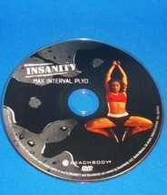 BEACHBODY INSANITY MAX INTERVAL PLYO  REPLACEMENT DISC DVD - $3.95