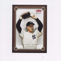 2004 Fleer Greats Of The Game Whitey Ford Yankees #63 - $0.99