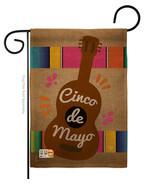 Celebrate Guitarron Cinco De Mayo Burlap - Impressions Decorative Garden... - £16.31 GBP
