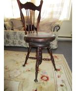 Antique Organ/Piano Chair - Beautiful  - $585.00