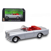 1961 Bentley Continental S2 Park Ward DHC Convertible Silver 1/43 Diecas... - $23.26