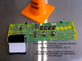 Panasonic TH-42PD50U Z Board TNPA3621 Sustain Board - See list for other models - $18.65