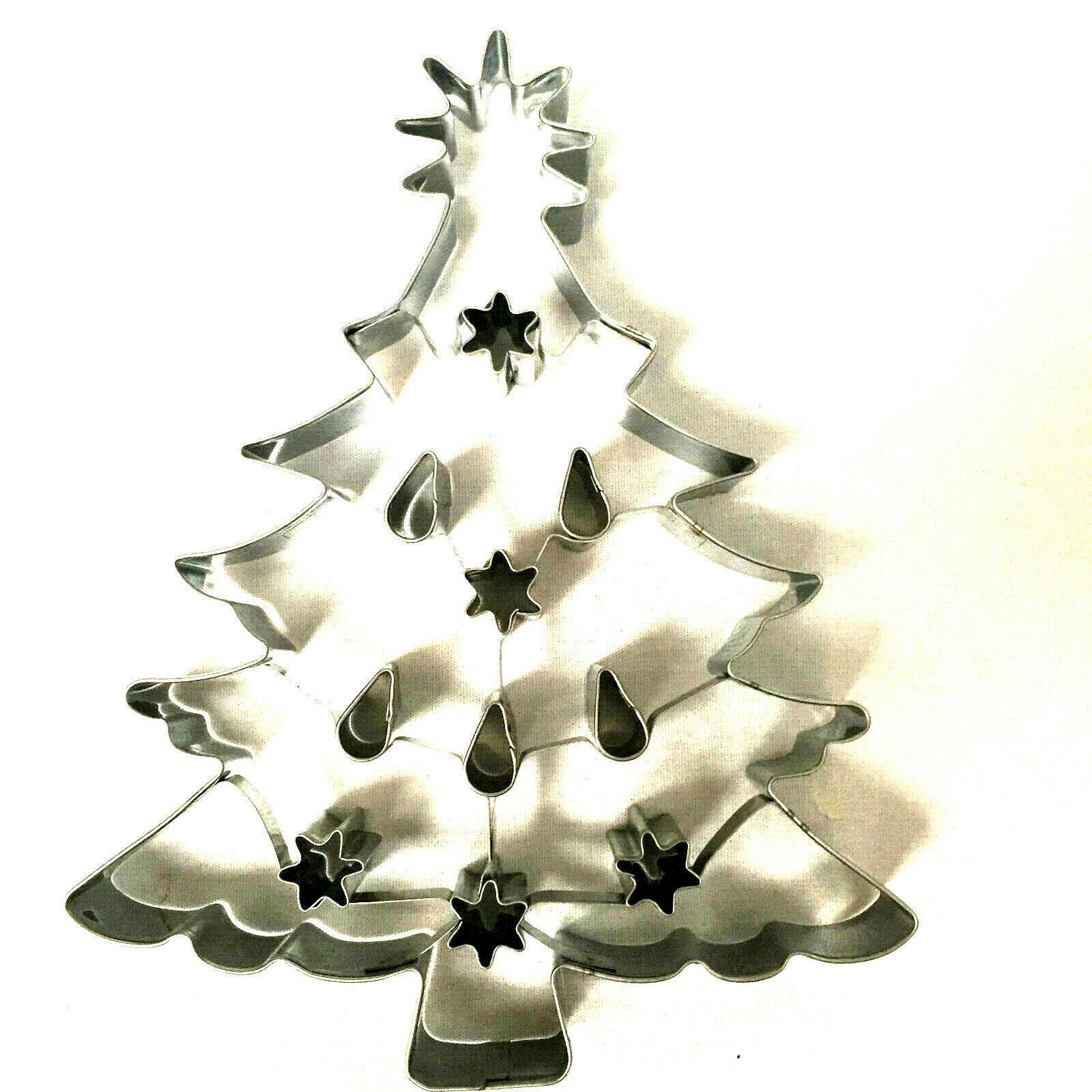 Christmas Tree Cookie Cutter Williams Sonoma Large Alunimum 8 Inches