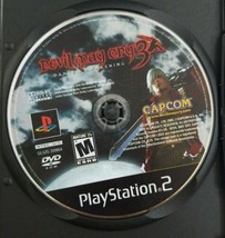 Devil May Cry 3 PS2 Game 2005 Capcom Disc Only - $5.89