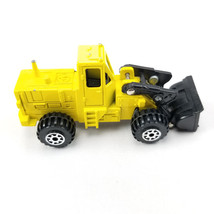 Road Champs Yellow 1984 WHEEL LOADER Diecast 1/88 Scale - $5.94