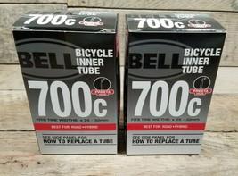 Bell Bicycle Inner Tube, Presta Valve 700 X 25-32C, Road Hybrid  Lot Of 2 - $17.77