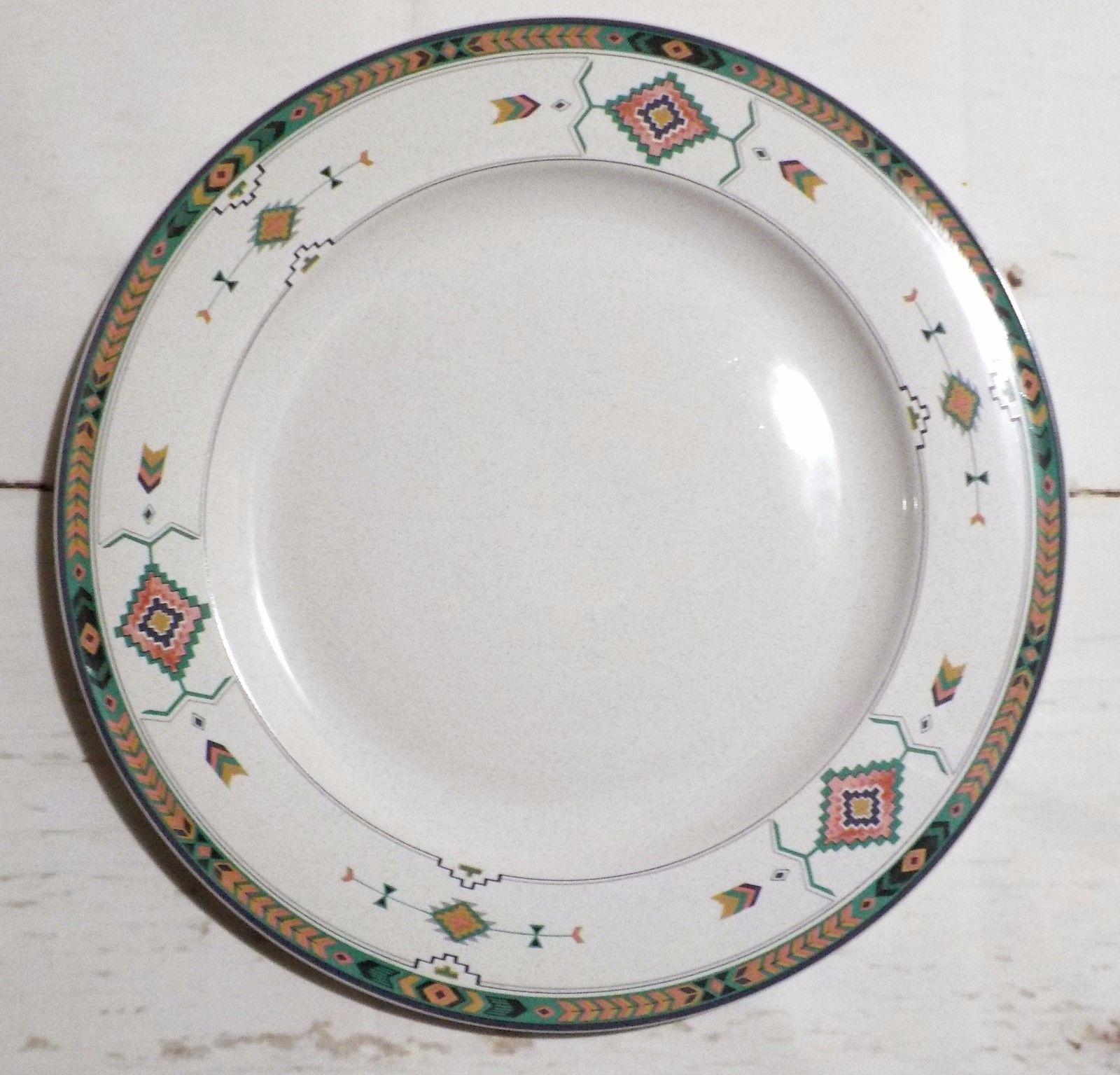 Studio Nova Adirondack Southwestern Round Platter Chop Plate 12  oven to table - $19.79 & Studio Nova Dinner Plates: 15 listings