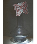 Marquis by Waterford Clear Vase Signed (Etched) - $15.00