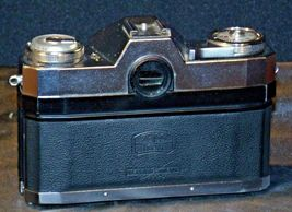 Zeiss Ikon Contaflex Super Camera with hard leather Case AA-192013 Vintage image 3