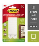 Command Picture Frame Hangers, Decorate Damage Free, Easy On, Easy Off, ... - $3.50