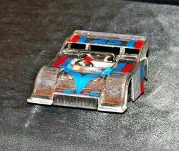Silver and blue and red #25 Racecar with Driver AA19-1508 Vintage image 4