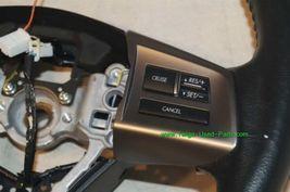 Subaru Legacy Steering Wheel W/Radio Controls & Paddle Shifter 2010 image 4