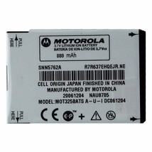 OEM Motorola MOT325BATS 880 mAh Replacement Battery for Motorola Tundra - $5.47