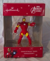 "HALLMARK Marvel Comics Avengers IRON MAN 3"" HOLIDAY CHRISTMAS TREE ORNAM... - $14.85"