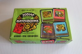 Vintage 1969/1970 Ohio Blue Tip Zodiac Matchbooks, Box of 50 Books-Unope... - $39.59