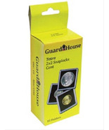 10 Guardhouse 2x2 Tetra Snaplock Coin Holders for Penny/Cent 19mm - $6.74