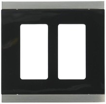 Franklin Brass 135759 Basic Stripe Double Decorator Wall Plate / Switch ... - $24.50