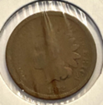 1872 Indian Cent - AG  - $53.75