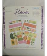 """COLORBOK Flavia Lemons & Lilacs 12"""" X 12"""" Scrapbook Paper & Punch out Pa... - $14.80"""