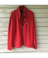 Vintage Tommy Hilfiger Jacket XL Full Zip Hideaway Hood 1985 Mens Red Fr... - $30.00