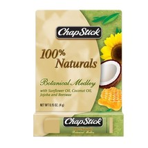 ChapStick 100% Naturals Botanical Medley Lip Balm,.015 oz ( Pack of 1) - $20.00