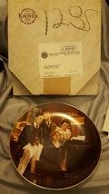 Close Harmony 1984 Norman Rockwell Knowles Bradford plate - $4.00