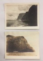 LOT vintage/antique 2 CAPE TRINITY SAQUENAY RIVER PHOTOGRAPHS signed RIC... - $47.50