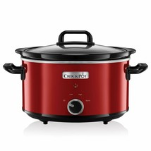 Crock-Pot SCV400RD-050 SCV400RD,210 W, 118.3oz, Stainless Steel, Red - $118.11