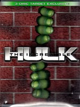INCREDIBLE HULK 3 - DVD DISC TARGET EXCLUSIVE BOX SET  - $14.50