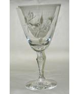 Fostoria Sweetheart Rose Pattern Water Goblet Set of 4 - $39.55