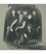 T-Shirt concert Povertyneck Hillbillies The Dont Look back Tour 2005 small - $39.95