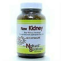 Natural Sources Raw Kidney - 60 Capsules - $11.02
