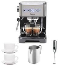 Ultima PRO Programmable Espresso & Cappuccino + (2) Cappuccino Cups + Pi... - $301.99