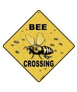 "CROSSWALKS Bee Crossing 12"" X 12"" Aluminum Sign - $13.65"