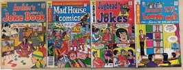 ARCHIE COMICS lot of (4) issues, as shown (1969-1979) G/VG  F - $9.89