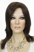 Julia 6 Brunette Long Monofilament Jon Renau Straight Wigs - $290.82
