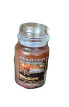 2 Village Candle Pumpkin Bread Large Jar Candle 26oz Limited Edition - $79.99