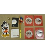 Disney Mickey Mouse Ornament Watch Thimble Toys - $29.58