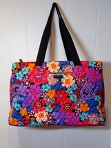 New Vera Bradley Triple Compartment Travel Bag in Fiesta Floral - $85.00