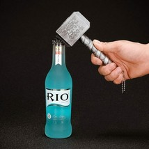 Kingdom® Bottle Opener, Beer Opener - Hammer Of Thor Shaped Beer Bottle ... - £5.13 GBP