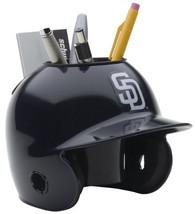 San Diego Padres MLB Baseball Schutt Mini Batting Helmet Desk Caddy - $19.95
