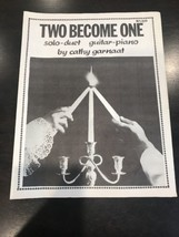 Two Become One Sheet Music - $14.43