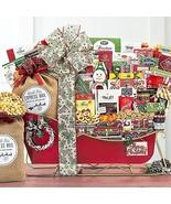 Sleigh Ride Extravaganza: Christmas Holiday Gift Basket - $233.95