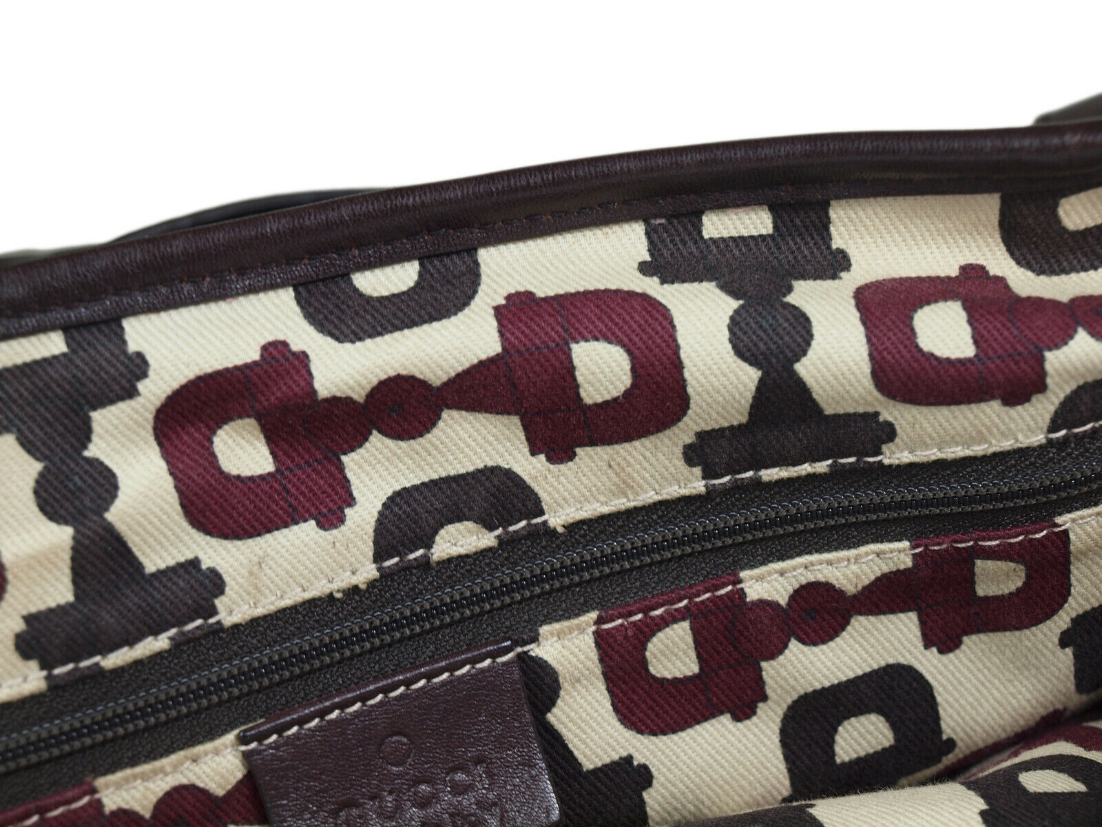 Auth GUCCI Guccissima Leather Dark Brown Shoulder Bag GT2152  image 12