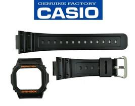 Genuine CASIO GW-M5610R GW-5600R G-SHOCK WATCH BAND & bezel BLACK  RUBBE... - $38.95