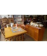 1950s Vintage Mid Century Modern Dining Set Distinctive Furniture by Sta... - $965.27