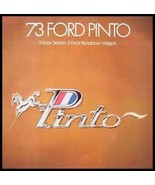 1973 Ford Pinto Original Sales Brochure - $8.53